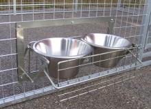 Vatten- och foderskålar